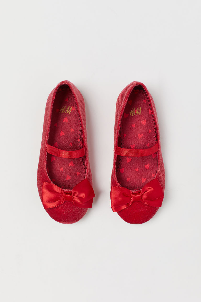 Flats - Red - Kids | H&M CA