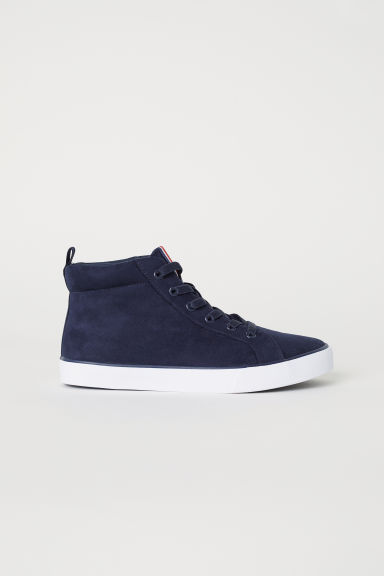 Hi-top trainers - Dark blue - Kids | H&M
