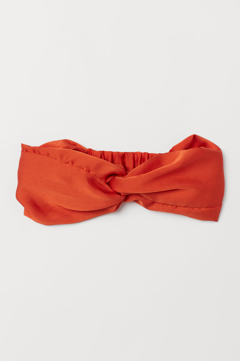 Haarband mit Knotendetail - Orange - Ladies | H&M DE