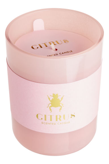 Candela profumata in vasetto - Rosa cipria/Citrus - HOME | H&M IT