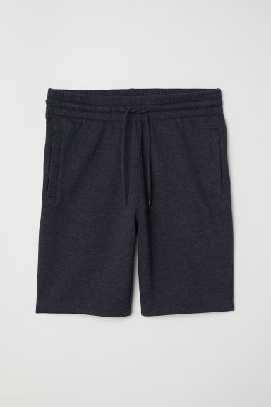 Sweatshirt shorts - Dark grey marl - Men | H&M