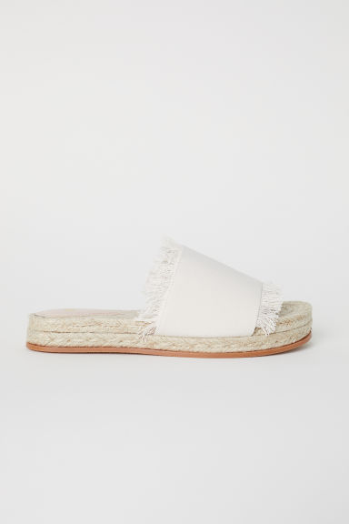 Sandals - Natural white - Ladies | H&M