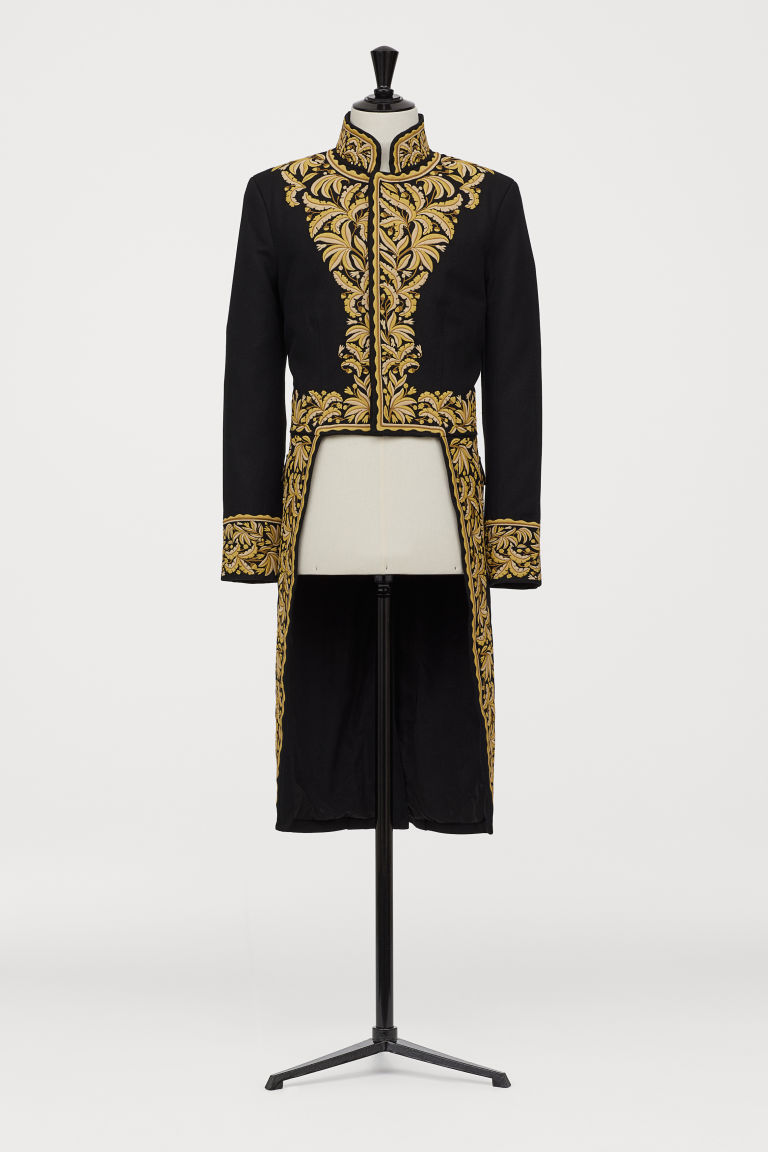Embroidered tailcoat - Black - Men | H&M GB