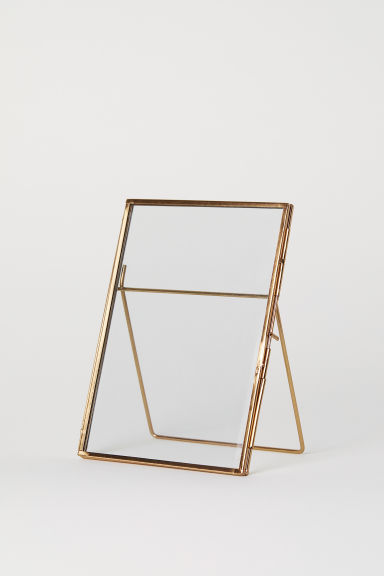 Metal Photo Frame - Rose gold-colored - Home All | H&M US