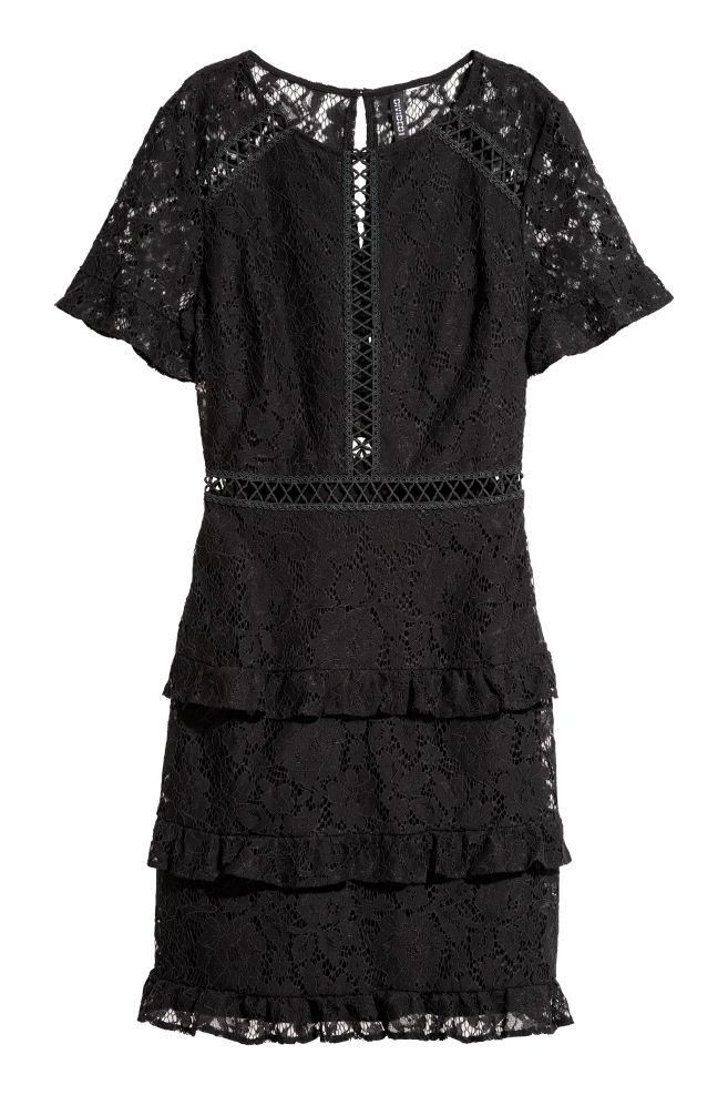 8d9215b57d Lace dress - Black - Ladies