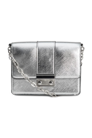 Small shoulder bag - Silver-coloured -  | H&M