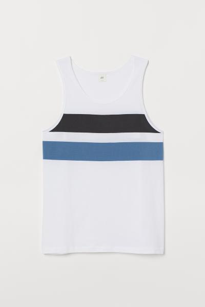 H&M - Vest top with a motif - 4