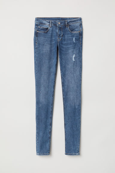 Push Up Low Jeggings - Light denim blue -  | H&M CA