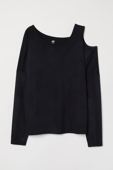 Yoga Top - Black - Ladies | H&M CA