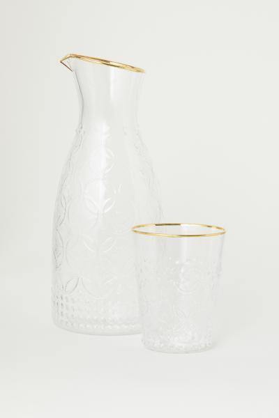 H&M - Carafe texturée - 3