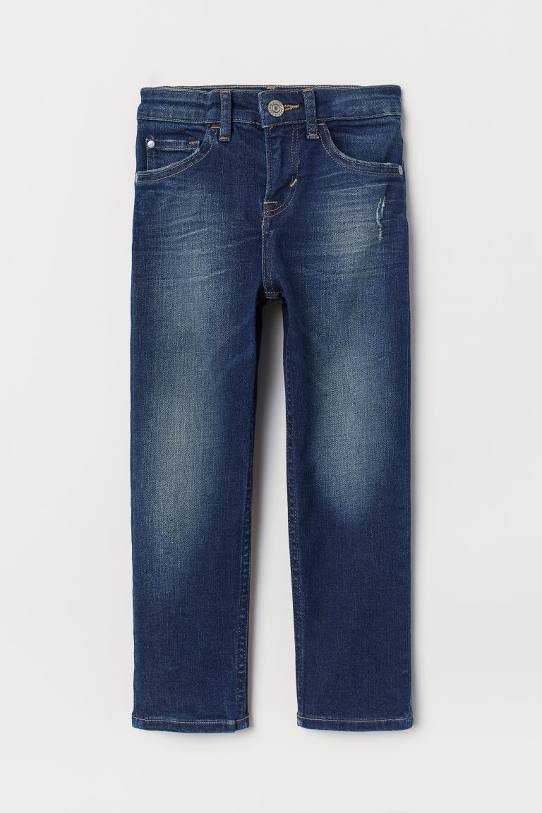 Slim Fit Superstretch Jeans - Dark denim blue -  | H&M US