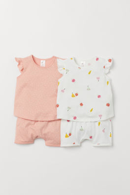 360e3fe16cb Undertøj og nattøj til baby pige – Shop online   H&M DK