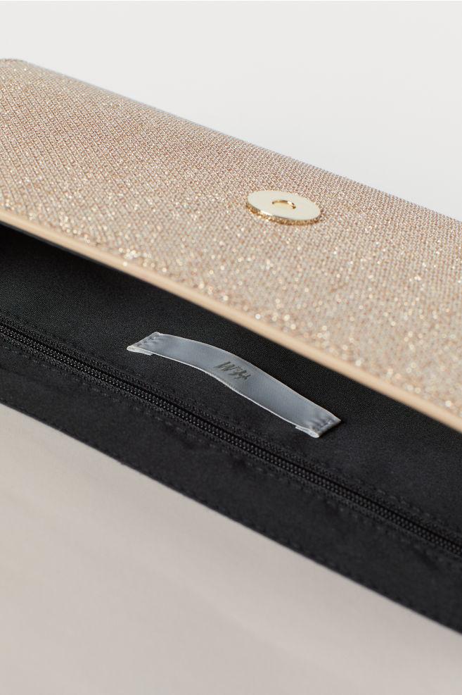 4e6ec8db3 Glittery Clutch Bag - Gold-colored - Ladies | H&M ...