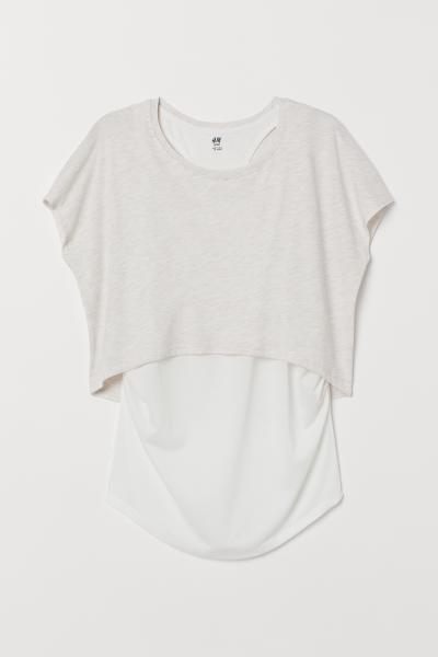 H&M - MAMA Camiseta de deporte doble - 5