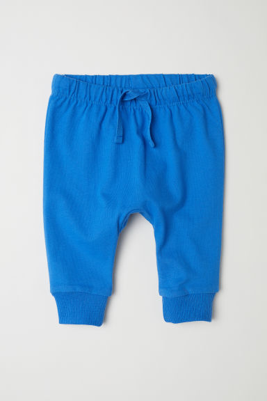 Jersey trousers - Bright blue - Kids | H&M CN