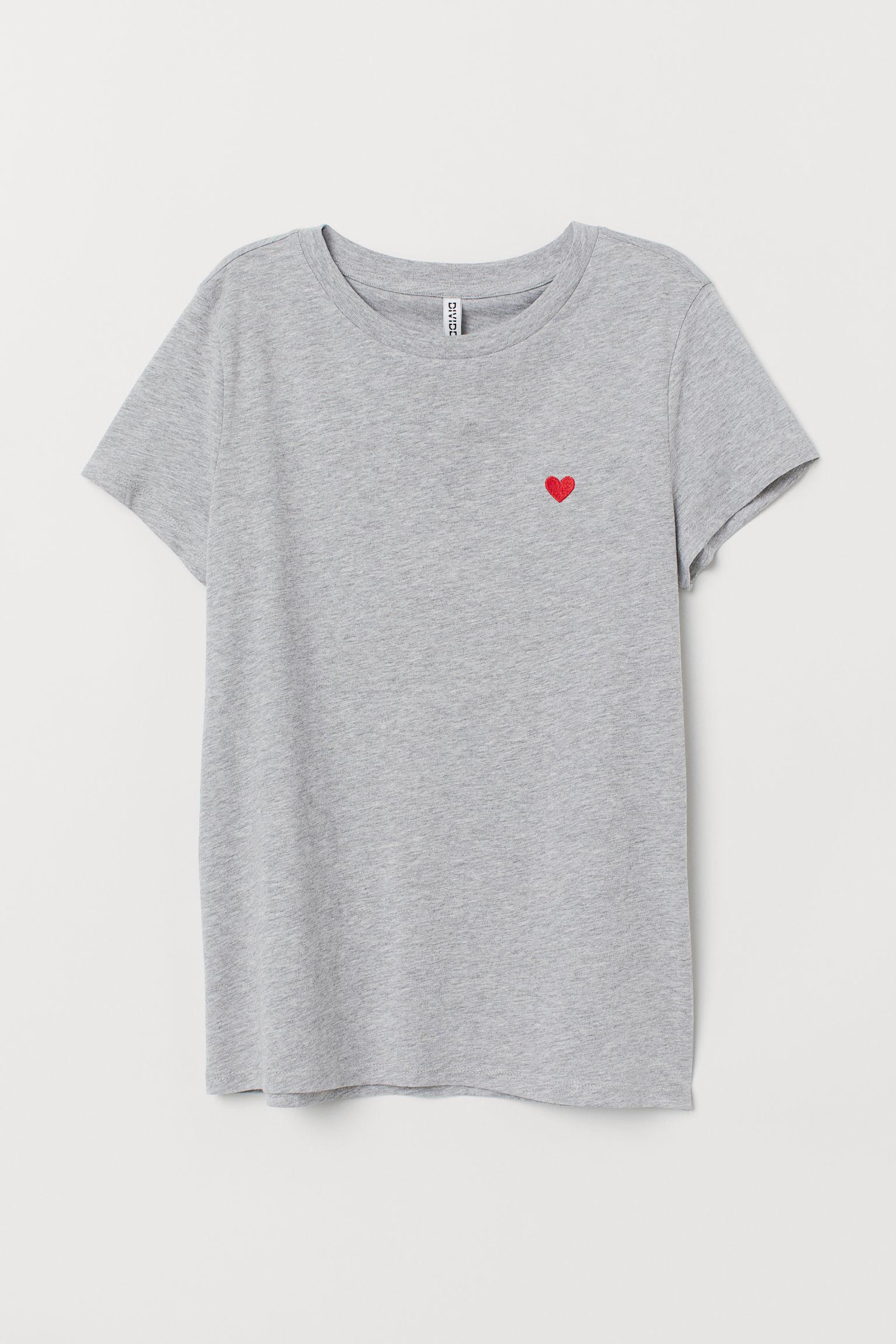 0d55a35979e4 Jersey T-shirt - White -   H&M US