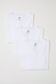 3-pack t-shirts Regular fitModell