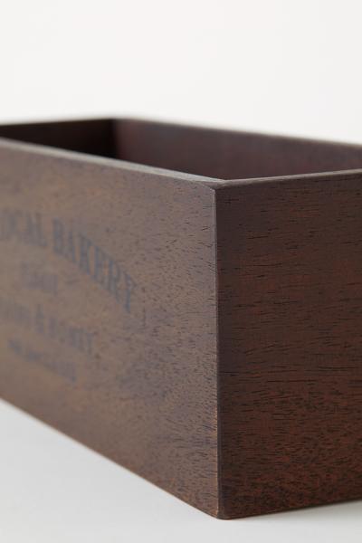 H&M - Caja de madera rectangular - 2