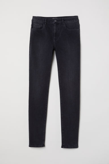 Trousers Skinny Fit - Dark grey - Ladies | H&M