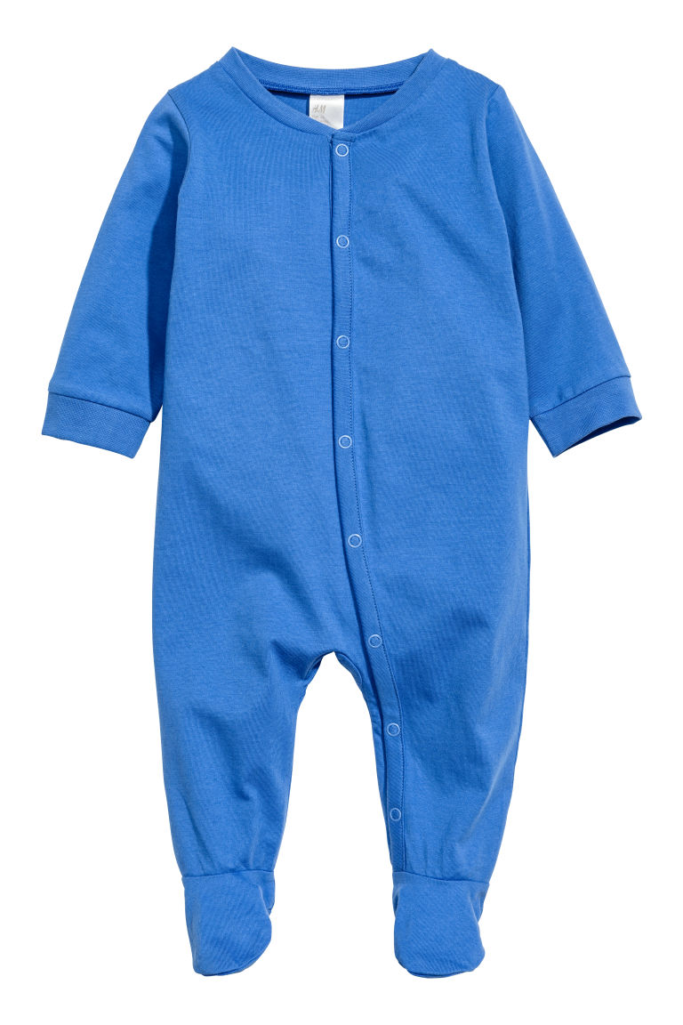 3-pack all-in-one pyjamas - Blue - Kids | H&M GB