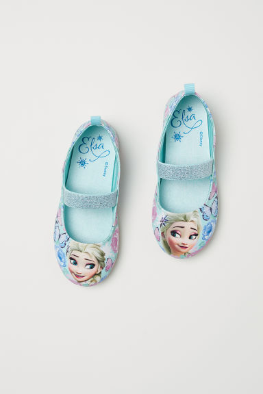 Ballet pumps - Light turquoise/Frozen - Kids | H&M