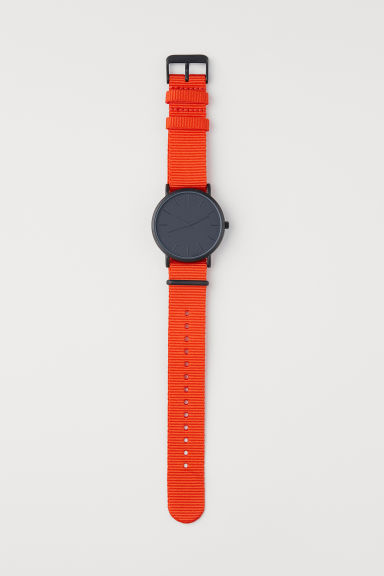 Montre - Orange - HOMME | H&M FR