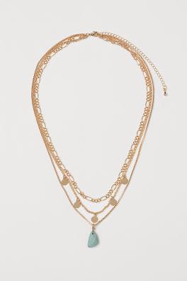 decd1a0754efa6 Necklaces For Women | Crosses, Chokers & More | H&M US