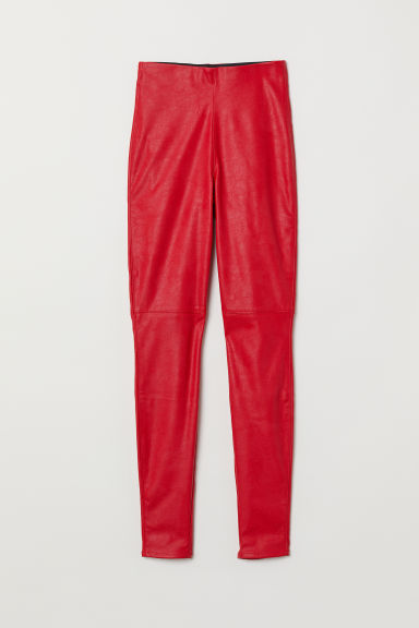 Treggings - Red - Ladies | H&M CN