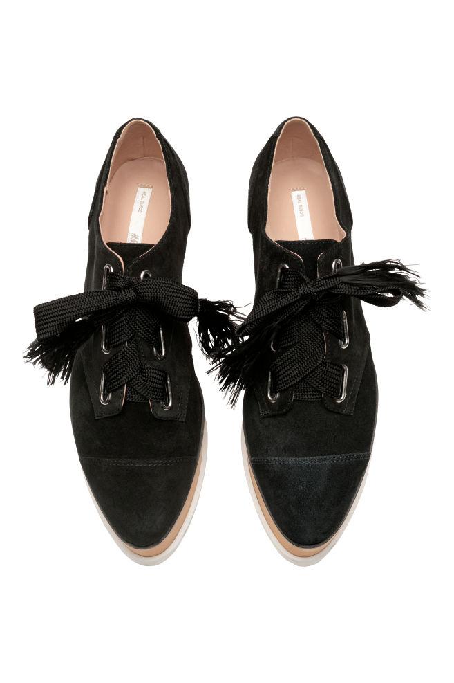 251df94c4171 Semišové topánky - čierna - ŽENY