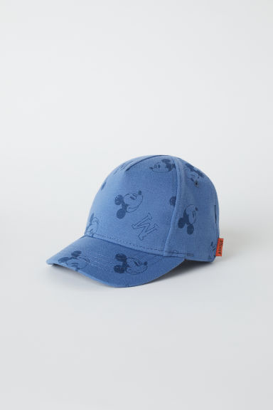 Printed cap - Blue/Mickey Mouse -  | H&M CN