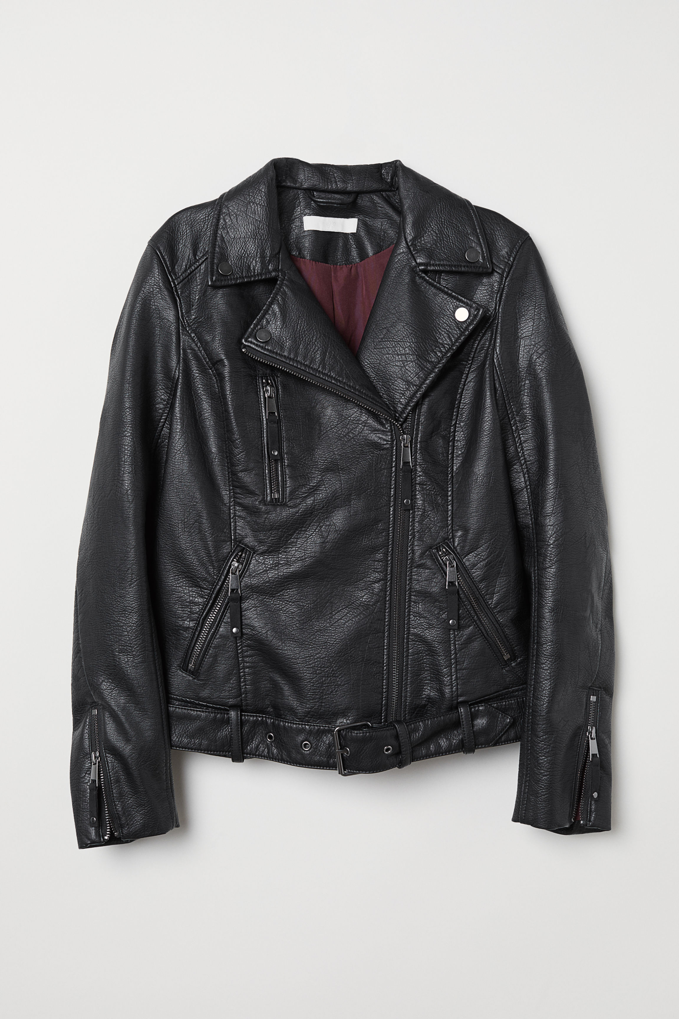 2c243724cd Biker Jacket - Black - | H&M US