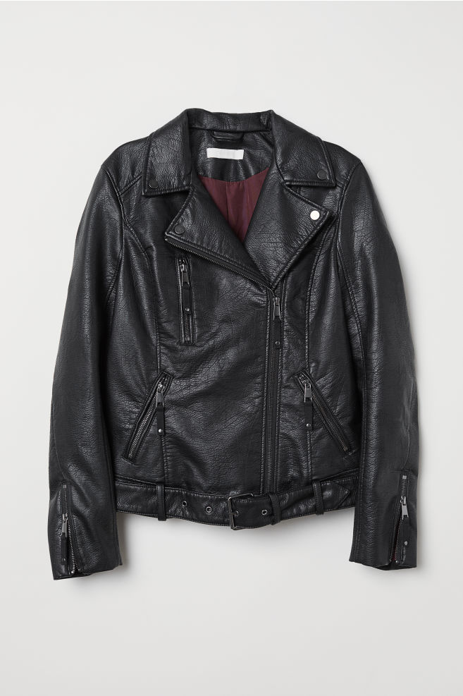 2a4b4015f Biker Jacket - Black - | H&M ...