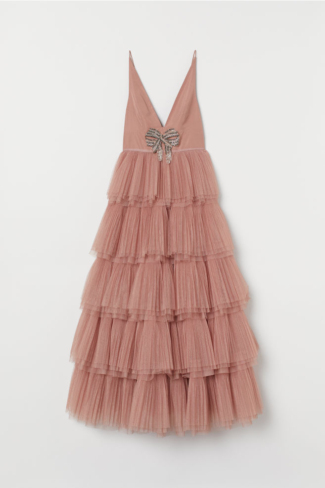 Abito con gonna in tulle - Rosa vintage - DONNA | H&M IT 5