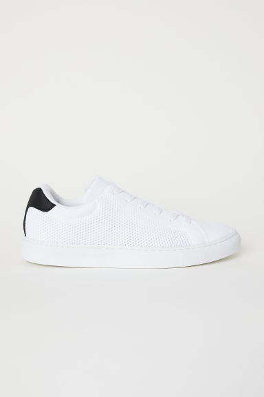 Fully-fashioned trainers - White/Black - Men | H&M