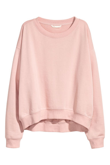 Sweatshirt - Powder pink - Ladies | H&M