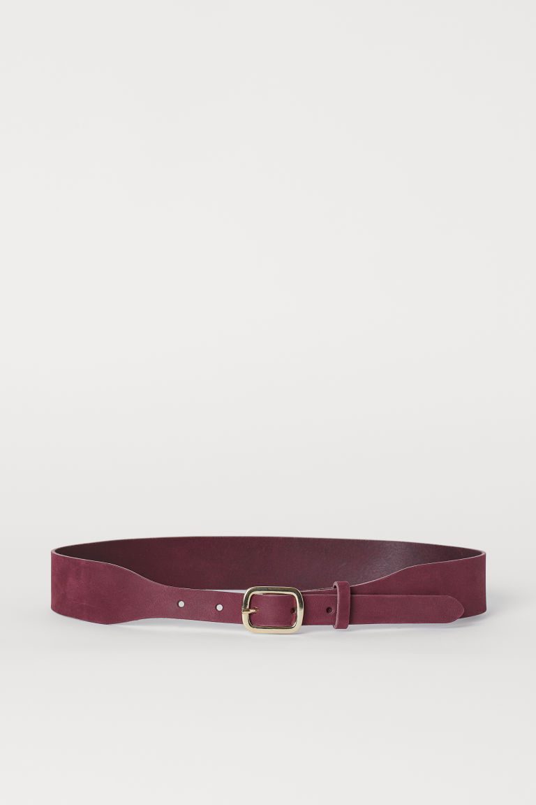 Waist belt - Burgundy - Ladies | H&M GB