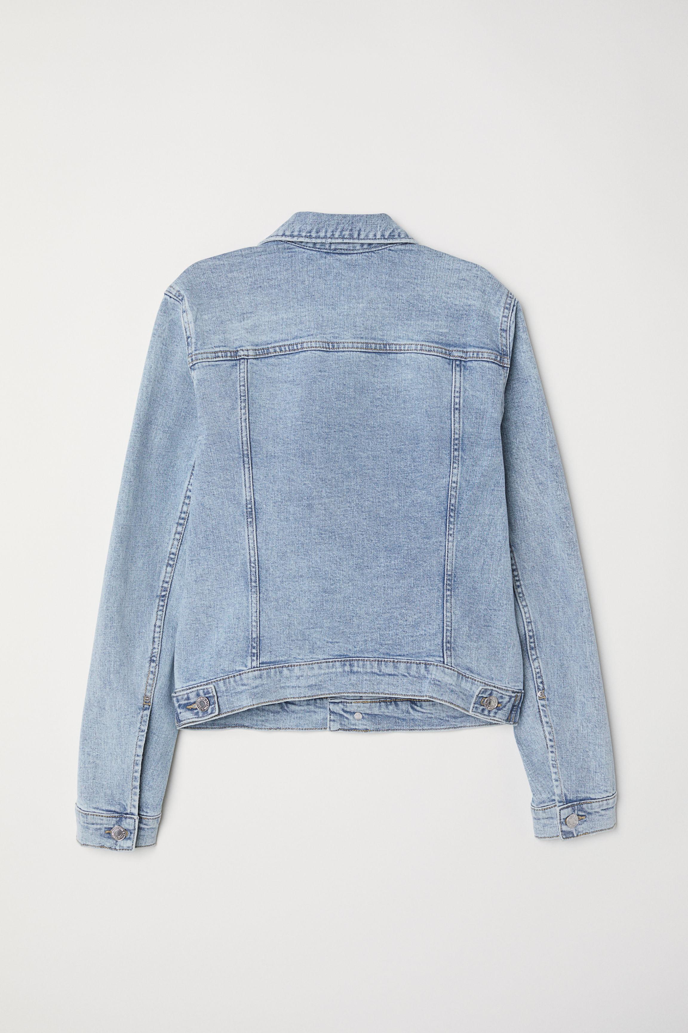 2f678b971 Denim Jacket - Black denim - Ladies | H&M US