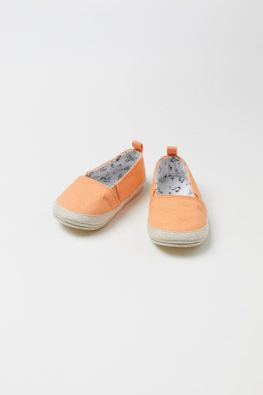 Espadrilles - Light orange -  | H&M CN