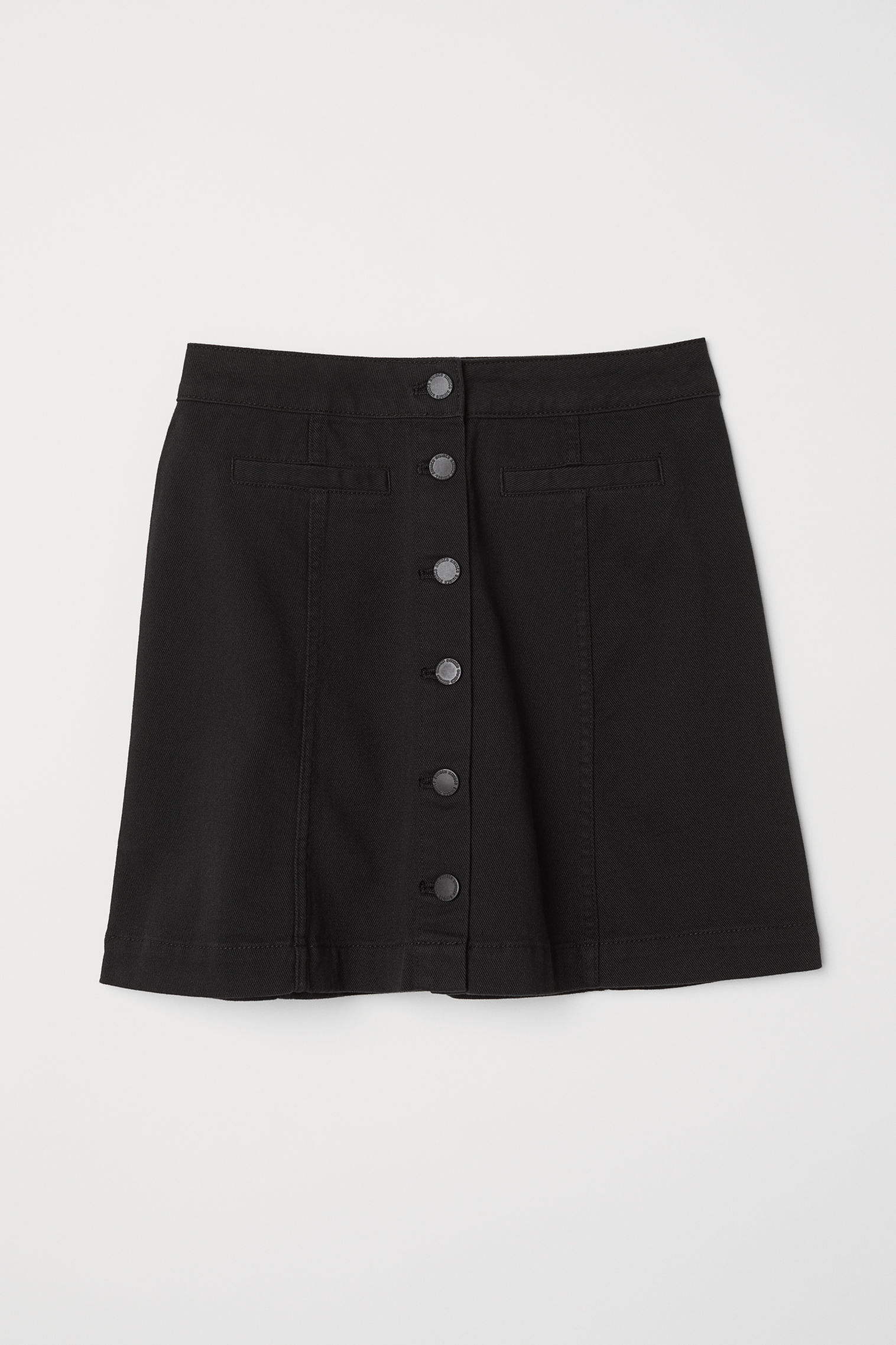 b07d3440e A-line Skirt - Camel -   H&M US
