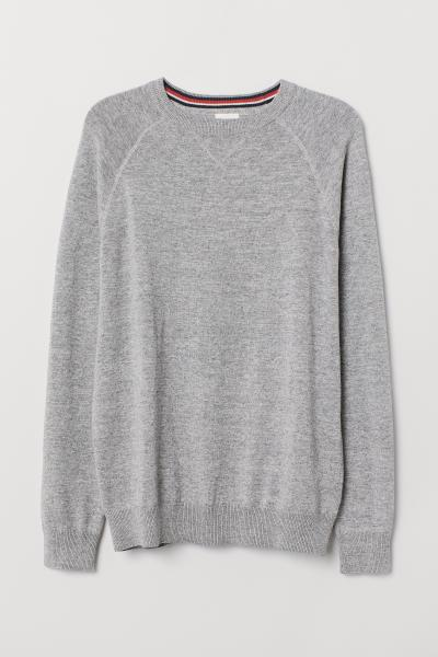 H&M - Cotton raglan-sleeved jumper - 5