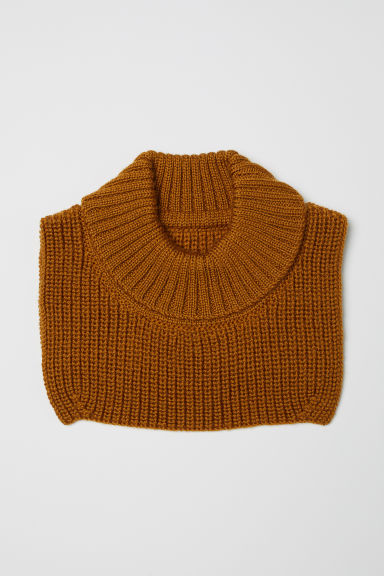 Wool polo-neck collar - Camel - Kids | H&M