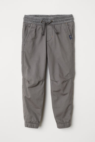 Cotton pull-on trousers - Grey - Kids | H&M