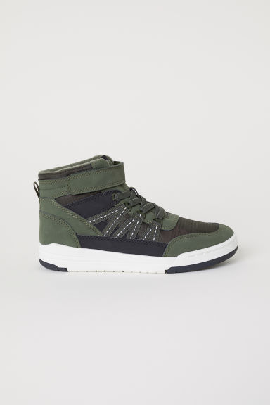 Hi-tops - Dark green - Kids | H&M CN