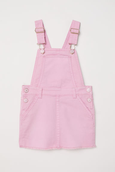 Dungaree skirt - Pink - Kids | H&M CN
