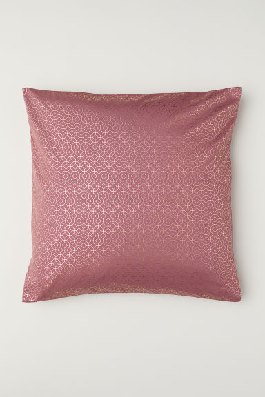 Copricuscino twill di cotone - Rosa profondo/fantasia - HOME | H&M IT