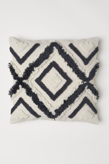Wool-embroidered cushion coverModel