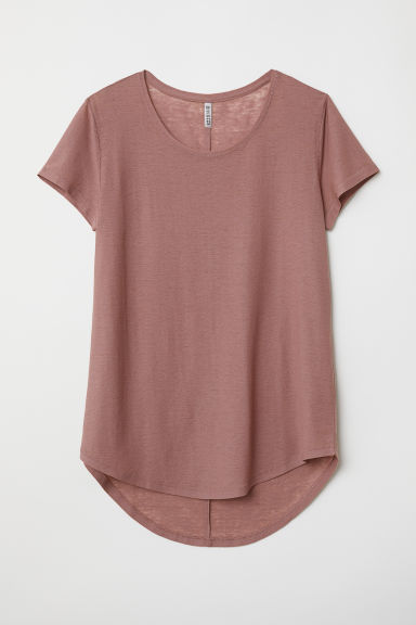 Top in jersey - Terracotta chiaro - DONNA | H&M IT