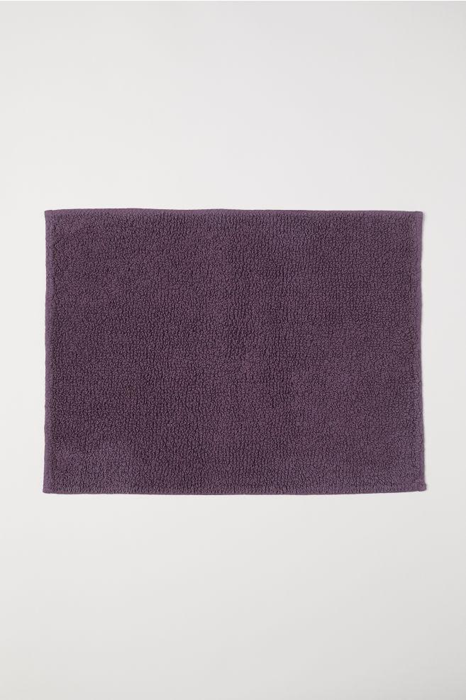 Tapis de bain en coton éponge