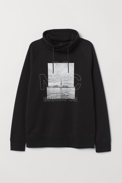 H&M - Sudadera con cuello chimenea - 5
