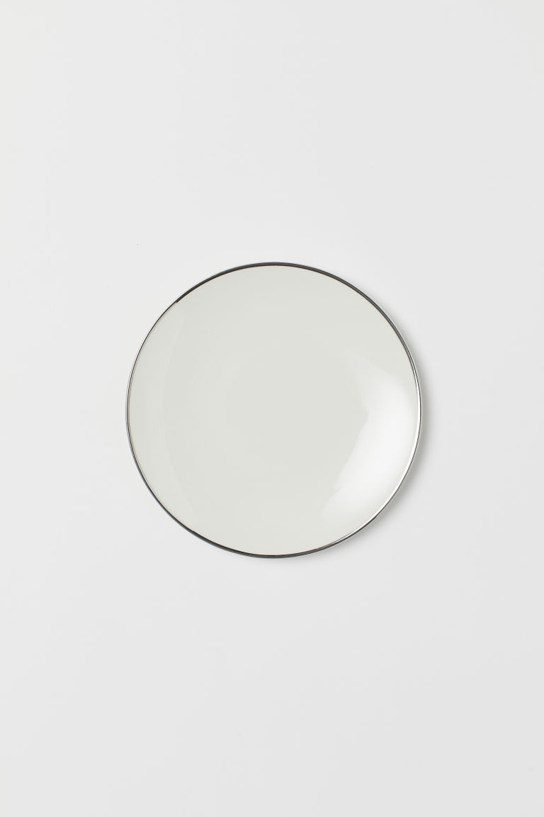 Porcelain plate - White - Home All | H&M CN